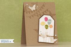 Geburtstagskarte - Stampin' Up! ♥ Stempelwiese