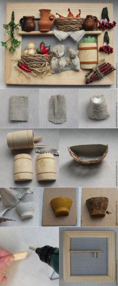 Миниатюрные панно своими руками