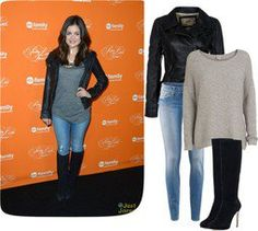 """""""Lucy Hale style :)"""" by jeleenaa ❤ liked on Polyvore"""