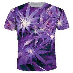 f4ebf16c4a9cfa Beautiful Purple Maple Leaf T-Shirt