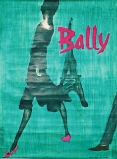 Bally vintage poster | Vintage Posters Only, Melbourne