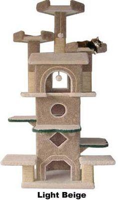 The Sleepy Hollow Penthouse   FELINE FANTASIES! Luxury Cat Furniture