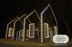 Unique Commercial Holiday Lighting in Richmond
