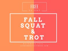 FREE Workouts for November!