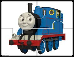 Free Thomas and Friends jigsaw puzzles and number puzzles. Friend Activities, Autism Activities, Sensory Activities, Activities For Kids, Free Preschool, Preschool Printables, Preschool Learning, Jigsaw Puzzles For Kids, Number Puzzles