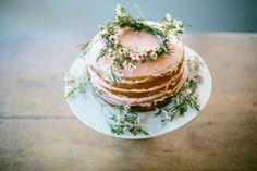 :: floral cake topper ::