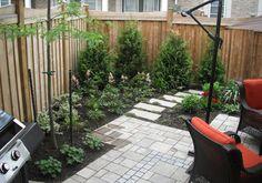 14 Best Townhouse Backyard Ideas images | Backyard ... on Townhouse Patio Ideas  id=30415