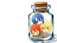 Uta no prince sama in a bottle