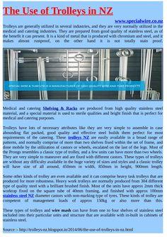 Stainless Steel #Trolleys in NZ #stainlesssteel
