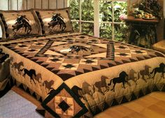 Country Cowboy fashion quilt
