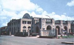 Tanjong Pagar Railway Station, circa 1954-56.   THE LIBYAN Esther Kofod www.estherkofod.com
