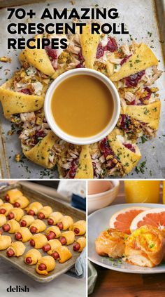 If you have one ingredient on hand at all times, it should totally be crescent rolls. Crescent Rolls, Crescent Dough, Appetizer Recipes, Appetizers, Dinner Recipes, Snack Recipes, Easy Recipes, Salad Recipes, Dessert Recipes
