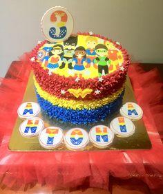 Torta súper héroes Food Cakes
