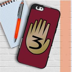 3 Gravity Falls Book 3 Mystery Twins iPhone 6   6S Case Casefreed