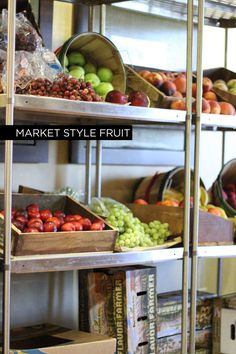 Market Style Fruit Display at a recent event. #roarevents