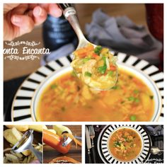 Comfort Foods, Portuguese Recipes, Portuguese Food, Easy Cooking, Soups And Stews, Thai Red Curry, Food And Drink, Meals, Ethnic Recipes