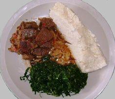 Ugali,Sukuma na Mchuzi