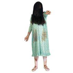 Disfraz de Niña del Exorcista #disfraces #halloween