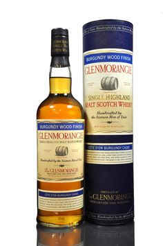 Glenmorangie 12 year old Single Malt Scotch Whisky Burgundy Wood Finish.
