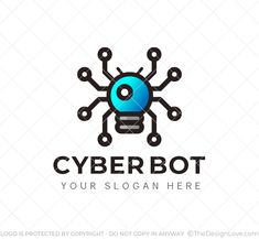 Logo for businesses providing virtual security, manufacturers of robots, data science and analysis. #LogoDesign #Logodesigner #logomaker #businessgrowth #startups #branding #Inspirational