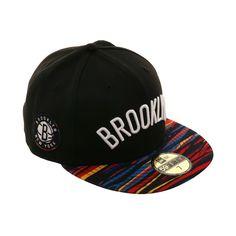 9bacc5e9951 New Era 59Fifty NBA City 2018 Brooklyn Nets Hat -2T Black