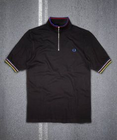 Fred Perry - Bradley Wiggins Short Sleeve Cycling Shirt