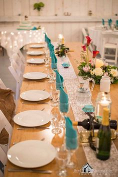 The Head Table ! Photographed by: Brad Quarrington Photography @ Coldstream Farm Originals, Table Settings, Table Decorations, Photography, Home Decor, Homemade Home Decor, Table Top Decorations, Place Settings, Photograph