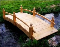 $729.00   6u0027 Treated Pine Amelia Single Rail Garden Bridge Fifthroom Http://