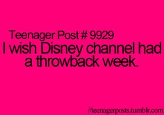 more like a throwback month! Old Disney for the win