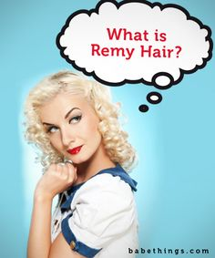 What are remy hair extensions?