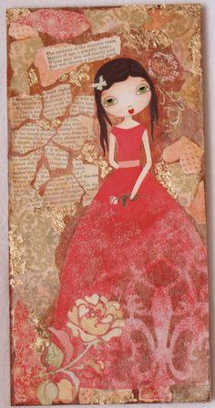 Madame Petite Doll Painting