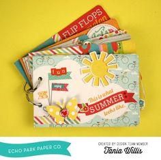 Echo Park: Summer Bliss Minibook