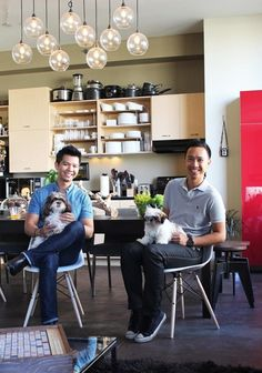 RJ & Francis' East/West Coast Loft — Pride at Home: House Tour Greatest Hits | Apartment Therapy