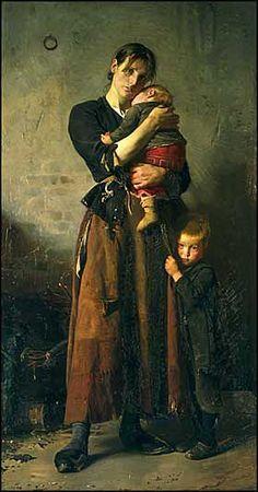 Franz Henningsen:Forladt 1888