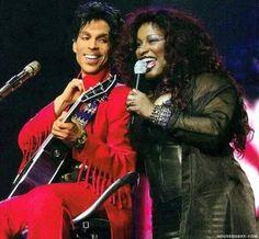 Prince and Chaka Khan