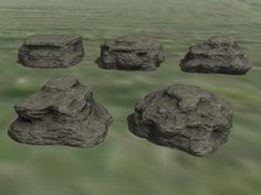 #Fels-Formationen Set 1. Ab #EEP8
