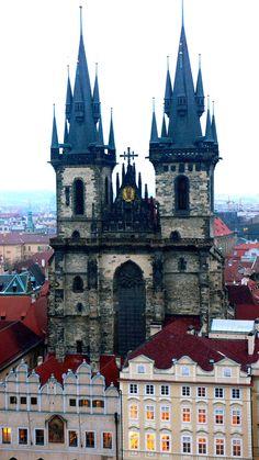 Prague, Czech Republic by Unornya.deviantart.com    ©2012 ~Unornya
