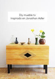Diy mueble tv inspirado en Jonathan Adler