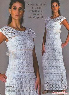 Платье мотивами! - Вязание - Страна Мам