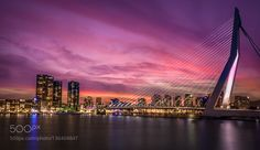Rotterdam at night by MoimHossain