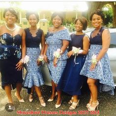 shweshwe dresses gallery 2017 / 2018 - style you 7 African Bridesmaid Dresses, African Wedding Attire, African Dresses For Women, African Attire, African Fashion Dresses, African Women, African Wear, African Outfits, African Clothes
