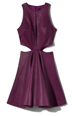 Cushnie et Ochs Stretch Leather Dress.  Obsessed.