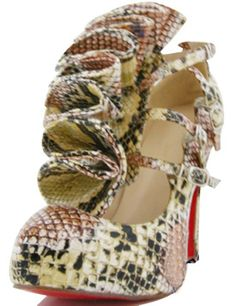 65a0d1b6d2b9  4 7 10   High Heel 4 5   Platform Sheepskin Leather Fashion Shoes