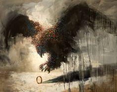 Artist Samuli Heimonen Creates Striking Paintings With Hidden Animal Rights Messages Amazing Paintings, Sketch Painting, Animal Paintings, Oil Paintings, Pictures To Paint, Animal Rights, Surreal Art, Photo Manipulation, Beautiful Birds