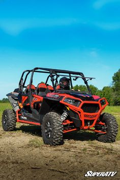 "POLARIS RZR XP 4 SEATER 1000 1//8/"" CLEAR REAR PANEL WINDSHIELD KIT EPS SXS"