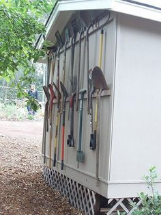 craft shed layout \ craft shed ; craft shed ideas ; craft shed interior ; craft shed interior ideas ; craft shed layout ; craft shed organization ; craft shed ideas woman cave ; craft shed ideas interiors Yard Tool Storage Ideas, Storage Shed Organization, Garden Tool Storage, Storage Rack, Storage Sheds, Tool Shed Organizing, Outdoor Tool Storage, Building A Storage Shed, Garage Storage Solutions