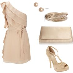 """Beautiful...""""nude"""" outfit"""