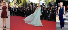 Diane Kruger is just killing it at Cannes (Versus mini dress, Giambattista Valli gown, Anthropologie jumpsuit)