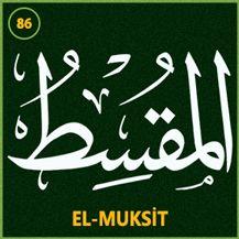 86_el_muksit Arabic Calligraphy Art, Caligraphy, Beautiful Names Of Allah, Allah Names, Islam Quran, Allah Islam, Penmanship, Holy Quran, Typography Letters