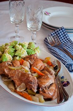 Stew Rabbit with Vegetables